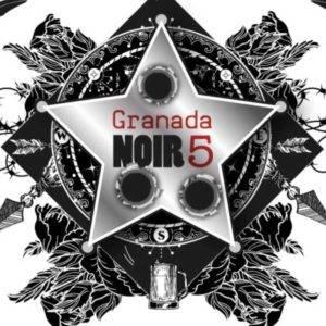 Marca del festival 'Granada Noir 5'