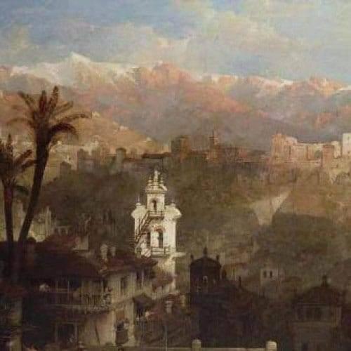 Fortaleza de la Alhambra en Granada. David Roberts