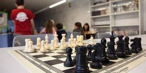 Detalle de un ajedrez