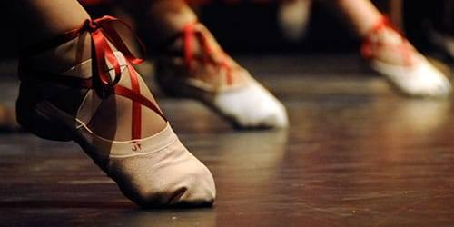 Pies de bailarinas