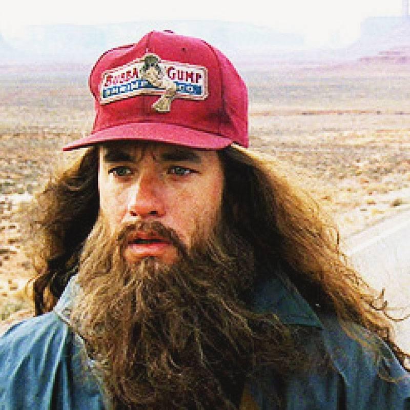Fotograma de la película Forrest Gump