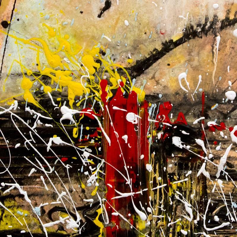 """Detalle del cartel de la exposición """"Arte, Inclusión y Transformación"""""""