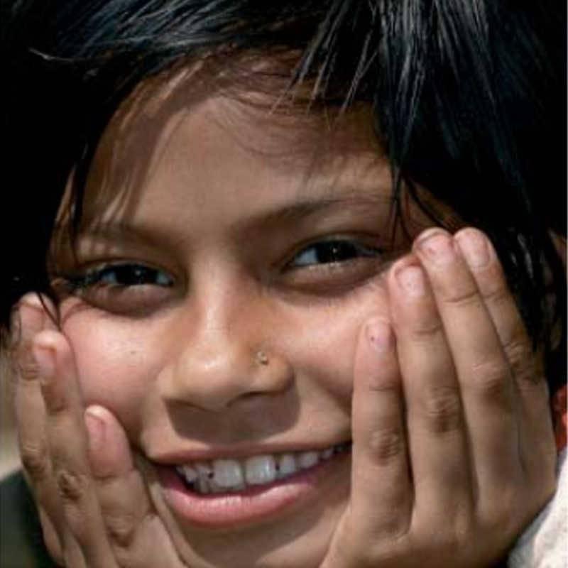 Imagen de una niña
