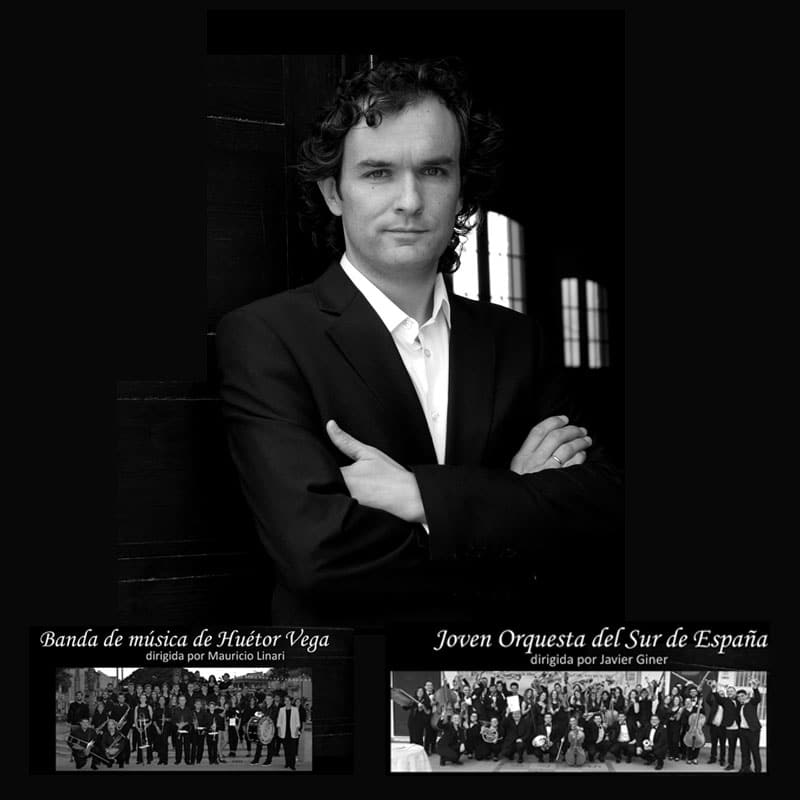 Cartel del concierto de Santa Cecilia