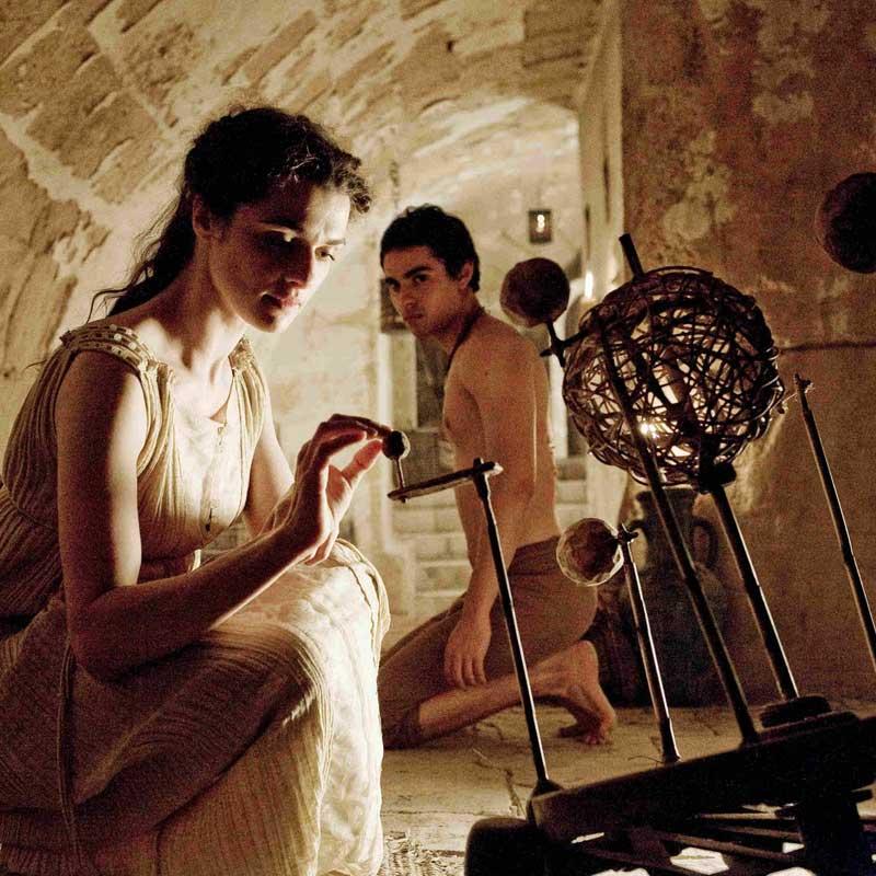 "Fotograma de la película ""Ágora"""