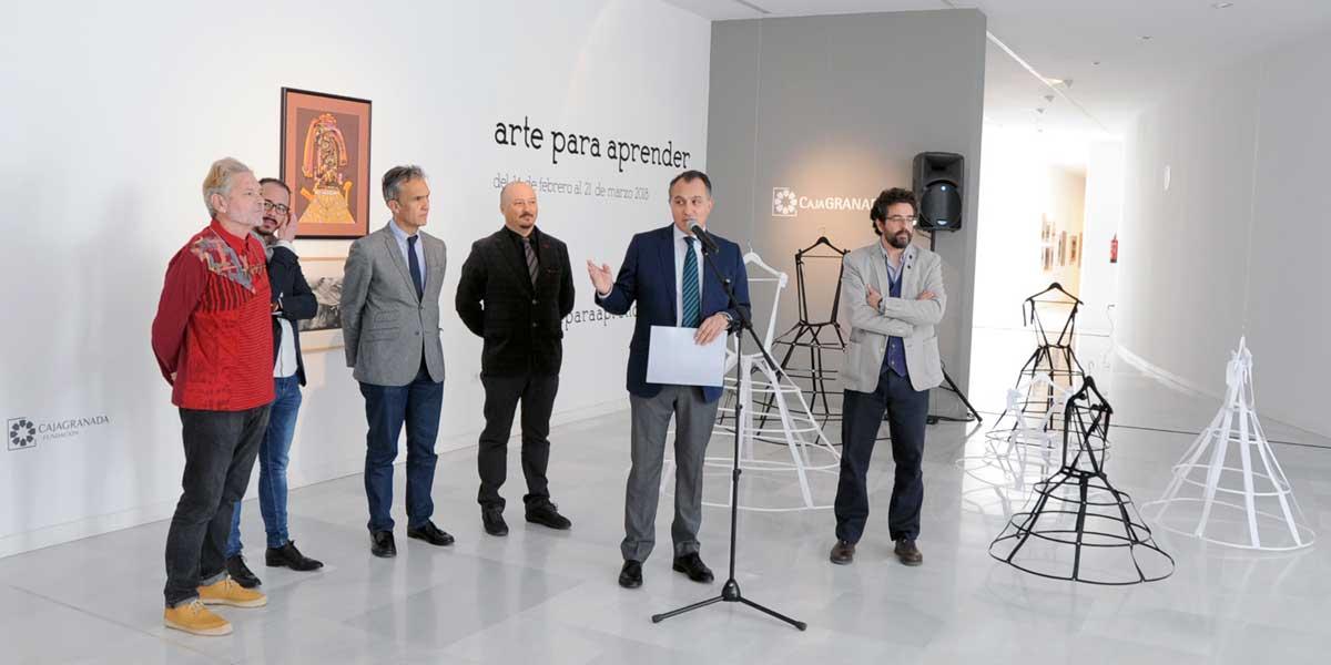 «Arte para aprender » convierte al espectador en artista, en el Museo CAJAGRANADA