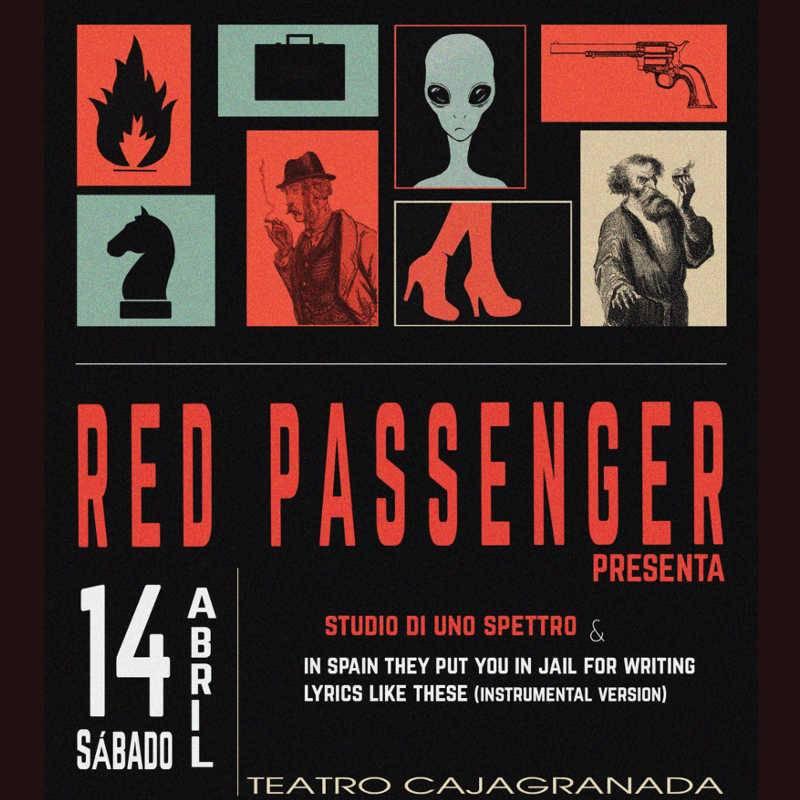 Red Passenger. Concierto de presentación