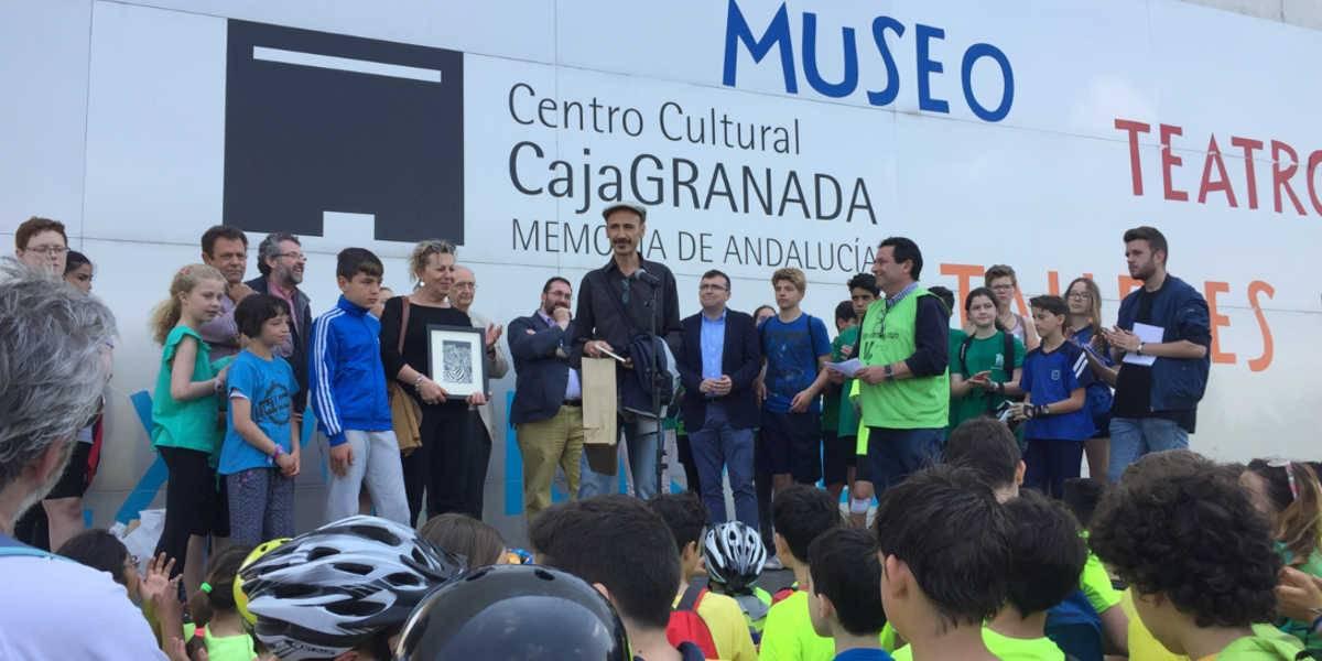 El Centro Cultural Memoria de Andalucía acoge el final de la Ecomarcha y entrega de los Premios Amigos de la Vega