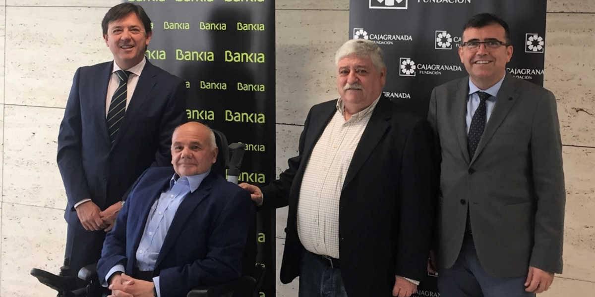 Bankia y CajaGranada Fundación impulsan dos proyectos especiales de empleo e integración de Aprosmo y Aspaym