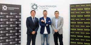 Joaquín Holgado, Pablo Heras-Casado y José Antonio Montilla