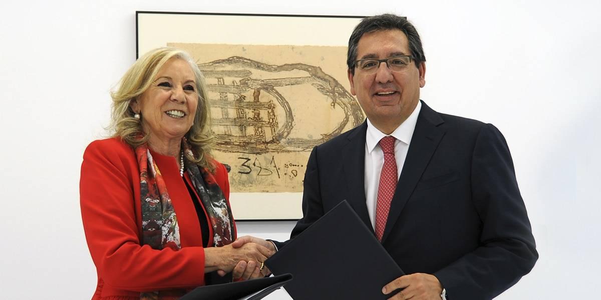 María Elena Martín-Vivaldi y Antonio Pulido