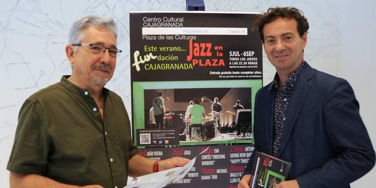 Fernando Bueno, Director de CajaGranada Fundación y Guillermo Morente, Presidente de la Asociación Ool Ya Koo