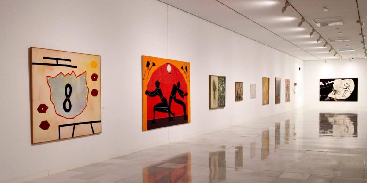 """Vista de la exposición """"Los años 80 en las colecciones ICO"""""""