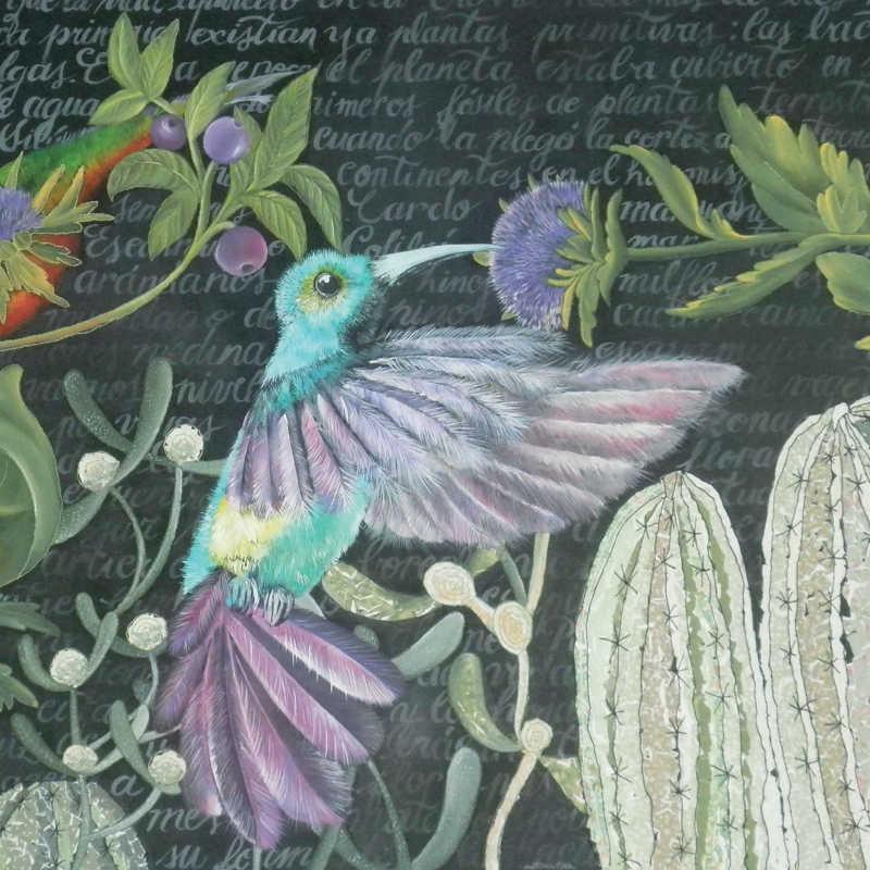 Andrea Castilla Sánchez. De la pintura al diseño textil