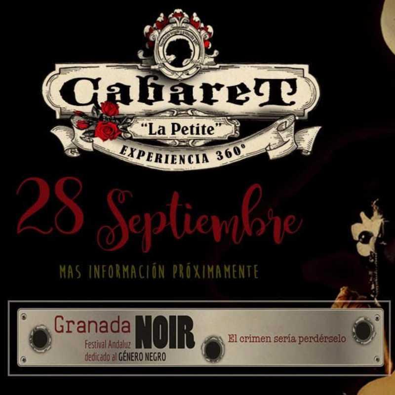 """Detalle del cartel del Cabaret Noir La Petite """"360º"""""""