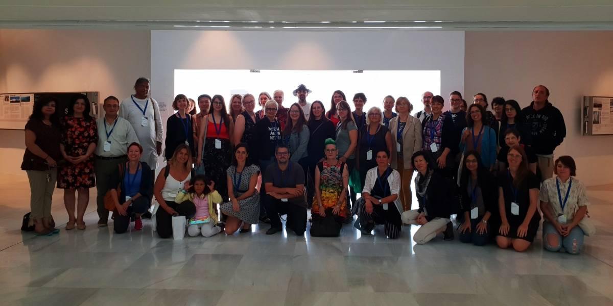 """Foto de familia de algunos de los participantes del """"Eleventh International Conference on The Inclusive Museum"""""""