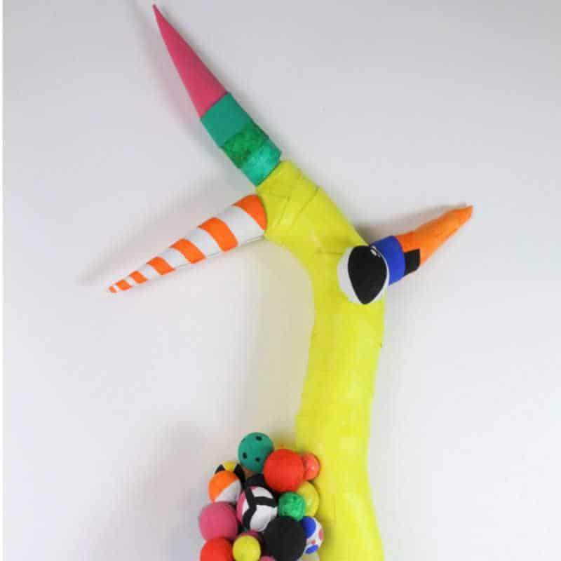 Fragmento de obra de la exposición Arte Contemporáneo y Patrimonio Cultural en Educación Infantil