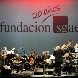 Fotografía de Juan Jesús García. La Ool-Ya-Koo Big Band, dirigida por Bob Sands, el pasado año en Granada
