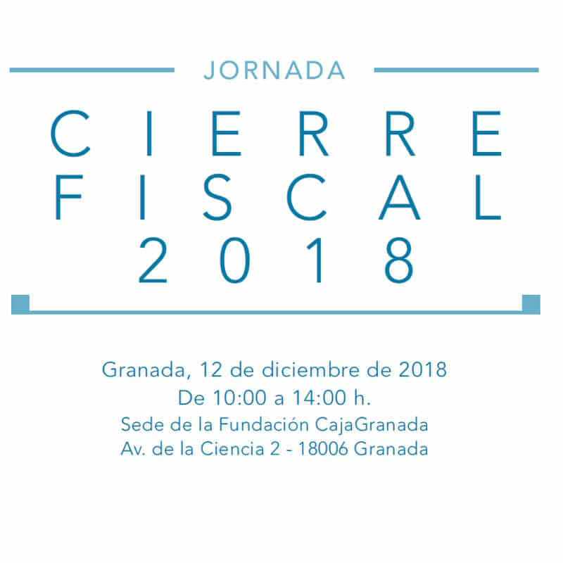 Jornada Cierre Fiscal 2018