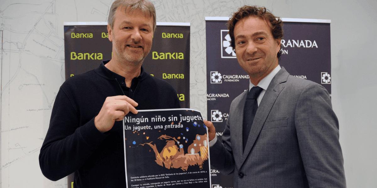 CajaGranada Fundación, Bankia y la OCG renuevan su campaña 'Ningún niño sin juguete'