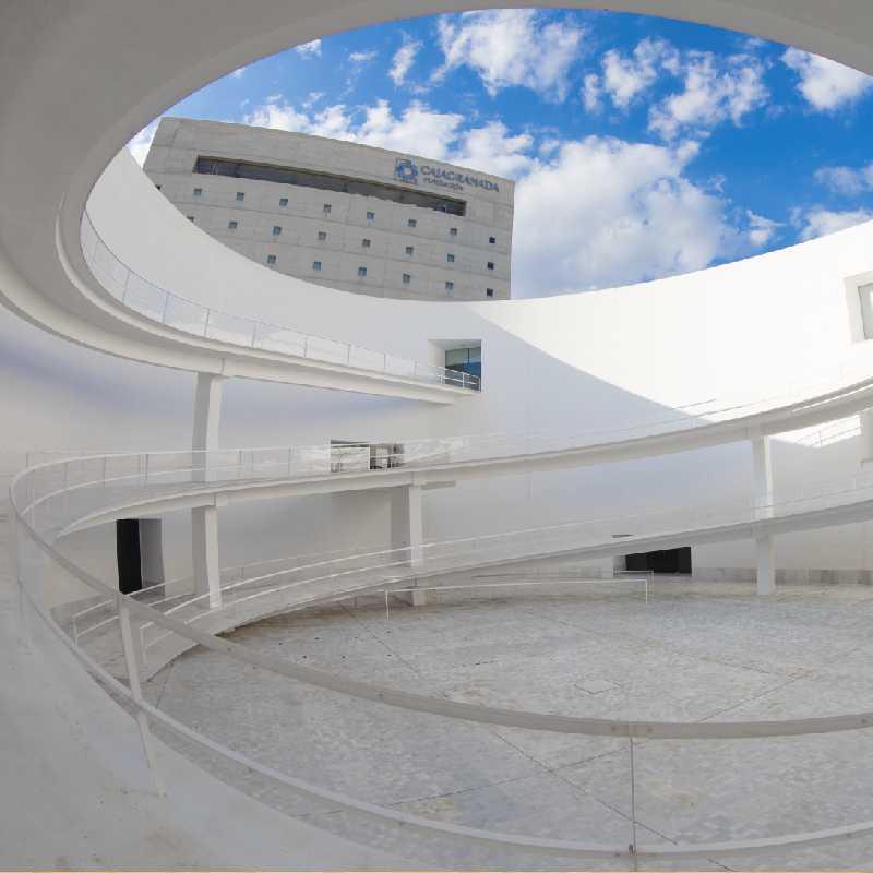 Patio Elíptico del Centro Cultural Memoria de Andalucía