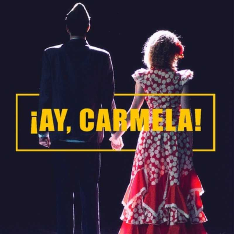 """Detalle del cartel de la obra """"¡Ay Carmela!"""""""