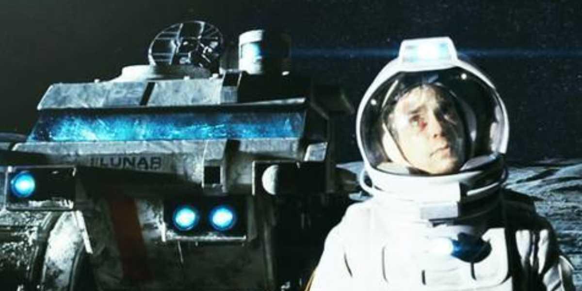 """Fotograma de la película """"Moon"""""""