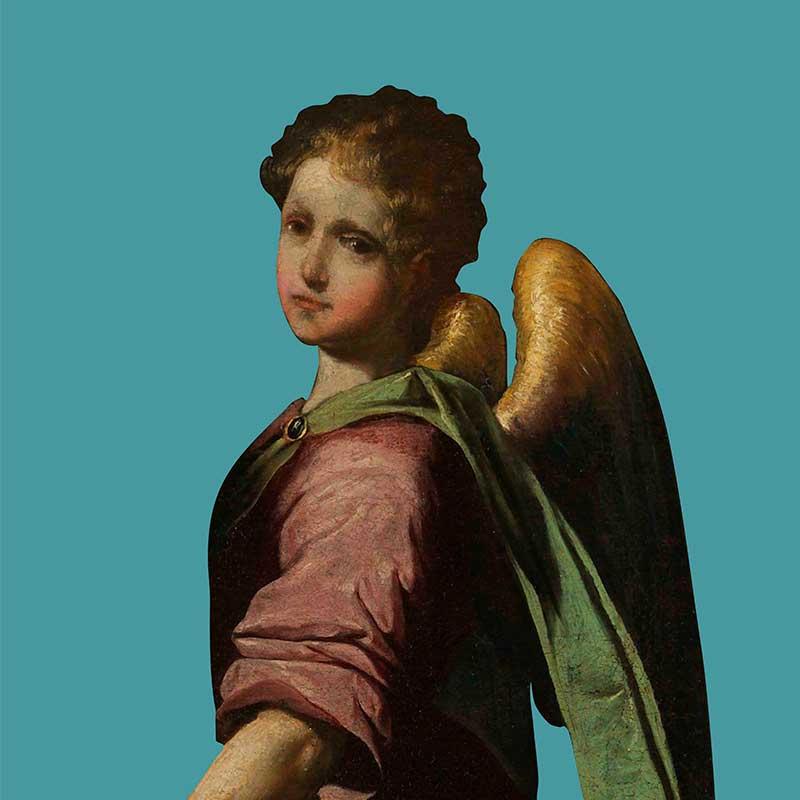 Pintura de un ángel