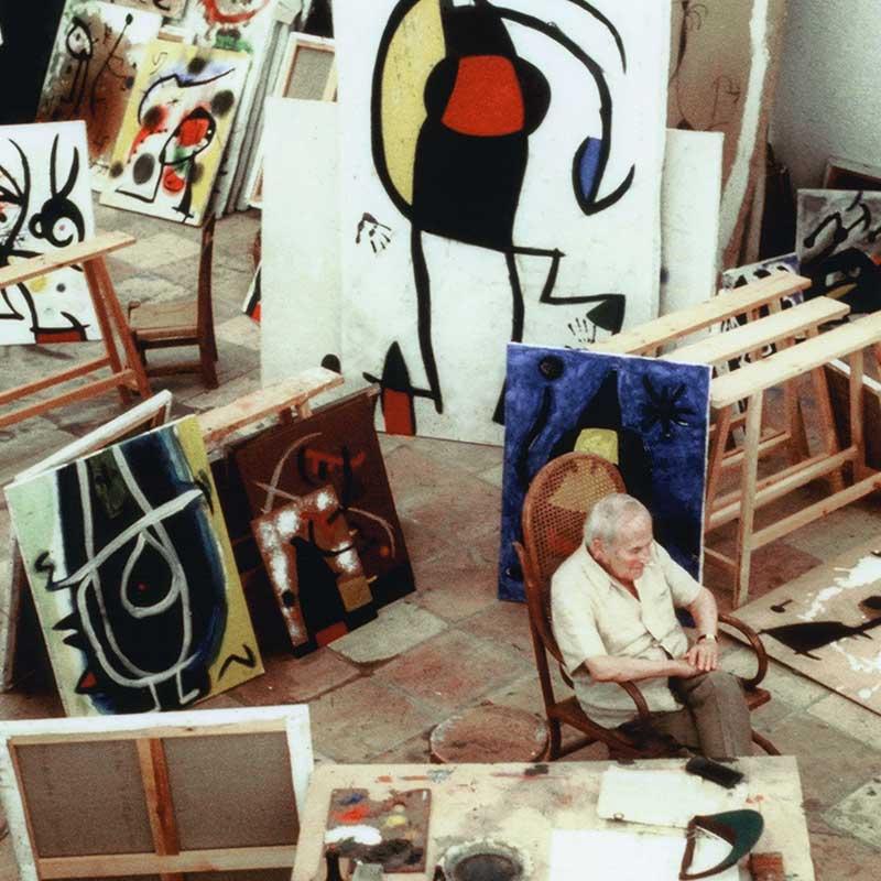 Exposición. Jean Marie del Moral. Entre artistas