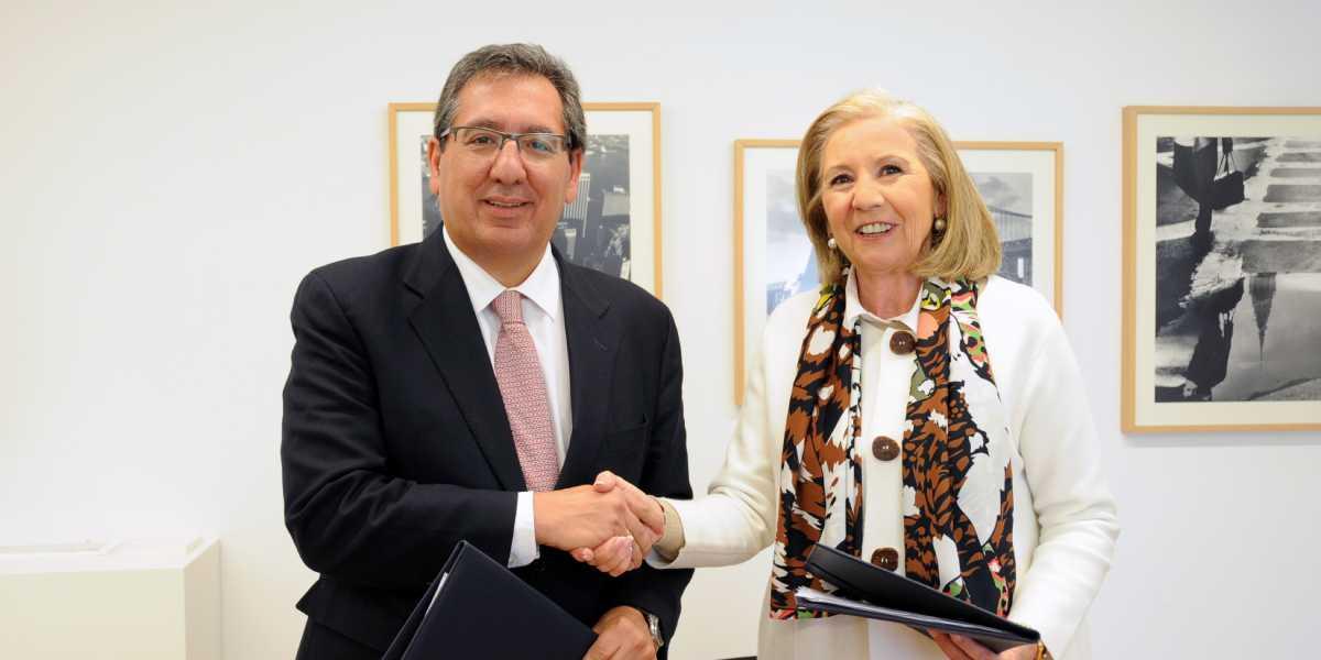 Fundación Cajasol y CajaGranada Fundación renuevan su alianza para desarrollar en conjunto actividades culturales, formativas y empresariales en Granada