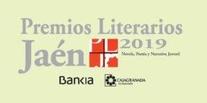 Motivo promocional de los XXXV Premios Literarios de Jaén