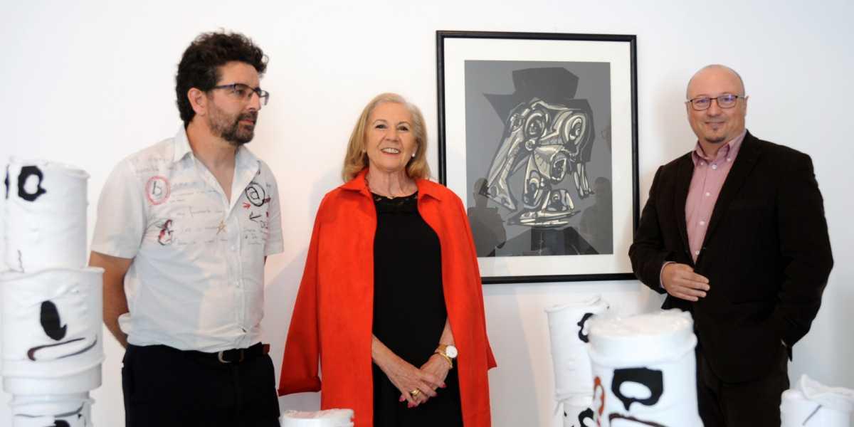 Joaquín Roldán, María Elena Martín-Vivaldi y Francisco José Sánchez Montalbán