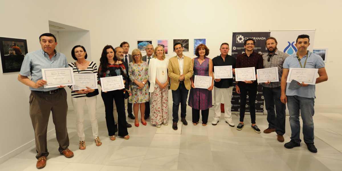 CajaGranada acoge la exposición de la VII edición del concurso de fotografía de AguaGranada