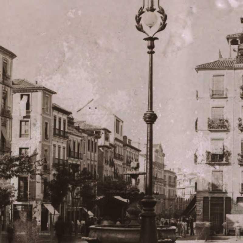 Vista de Plaza Nueva. Granada