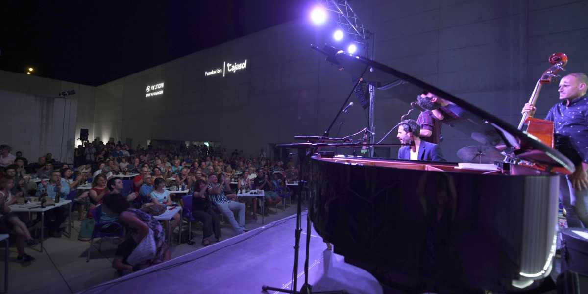 Cerca de 10.000 personas disfrutaron del cine y del jazz de verano en el Centro Cultural Memoria de Andalucía