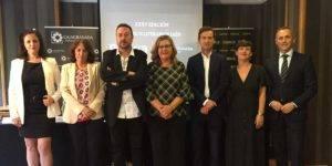 Foto de familia del fallo de los Premios Literarios de Jaén 2019