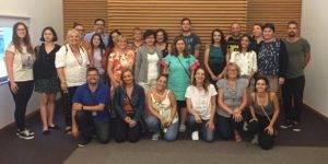 Foto de familia de los participantes de la sesión de training de septiembre del proyecto mApp my Europe