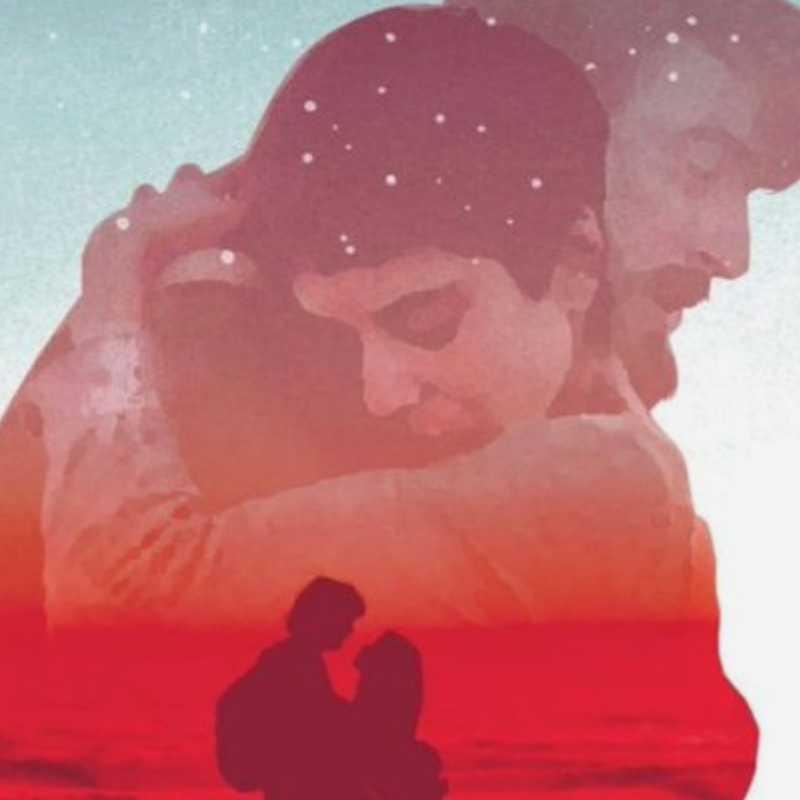 Detalle del cartel de la película 'Sin fin'