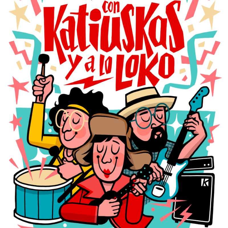Con katiuskas y a lo loko. La Chica Charcos & The Katiuskas band