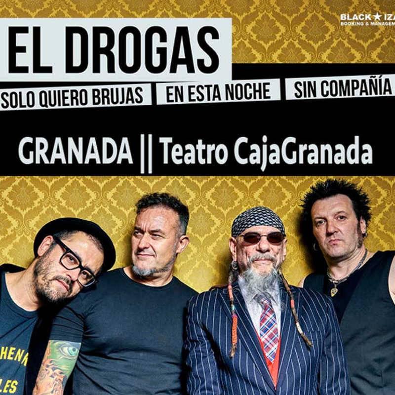 Enrique Villarreal 'El Drogas'. Sólo quiero brujas en esta noche sin compañía
