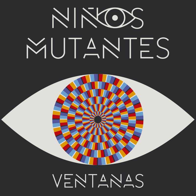 """Detalle del cartel del concierto de los """"Niños mutantes"""""""