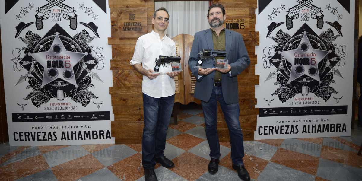 Juan Díaz Canales y Juanjo Guarnido