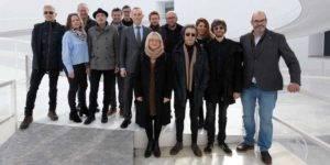 Organizadores, colaboradores y participantes del Festival Gravite