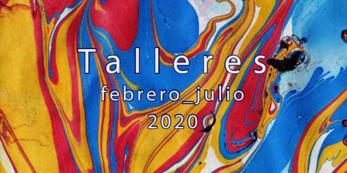 Infografía de los talleres CajaGranada. Febrero-julio 2020