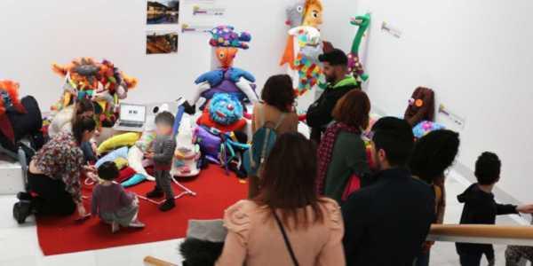 Exposición 'Arte contemporáneo, Educación y Tecnología'