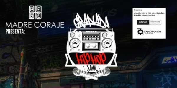 Detalle del cartel del 'Granada Hip Hop Jam'