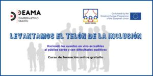 Curso de formación online gratuito: Haciendo los eventos en vivo accesibles al público sordo y con dificultades auditivas