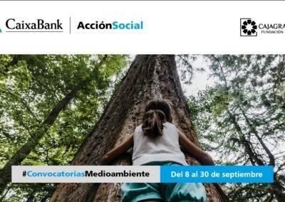CaixaBank y CajaGranada Fundación convocan ayudas por 100.000 euros para proyectos medioambientales en Granada, Jaén, Málaga y Almería