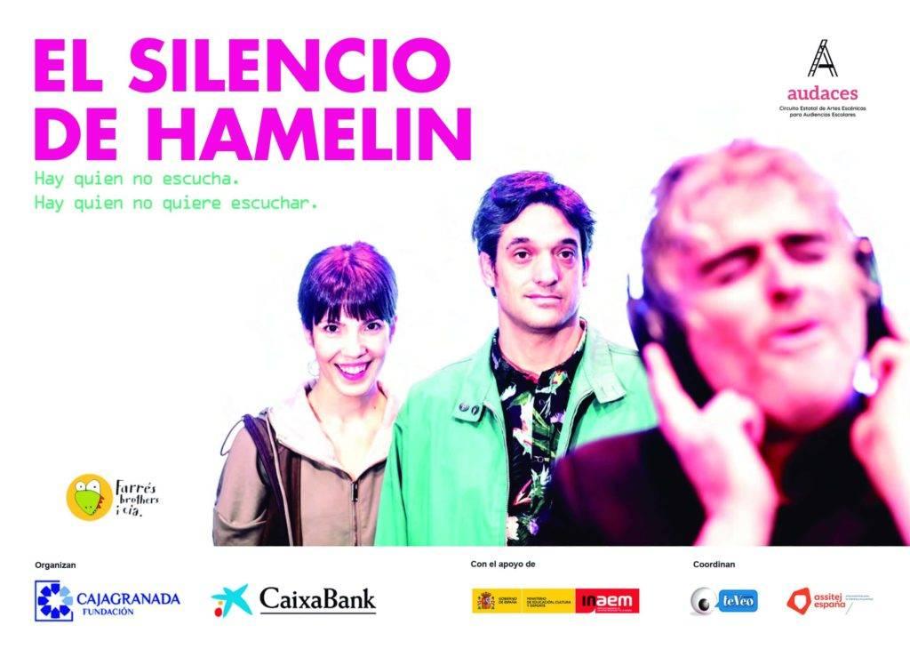 Cartel de la obra teatral 'El silencio de Hamelín'