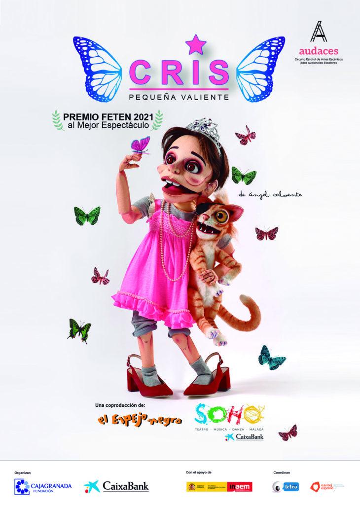 Cartel de la obra teatral 'Cris'